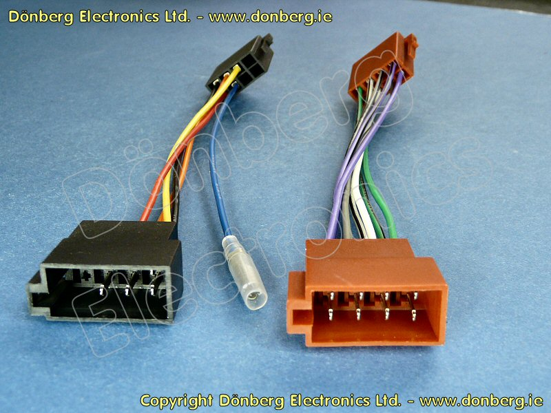 Audio-Ersatzteil ISO-VOLKSWA3 - ISO-VOLKSWAG 3 AUTOMOBIL RADIO ...